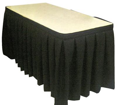 Display Table Skirt 23